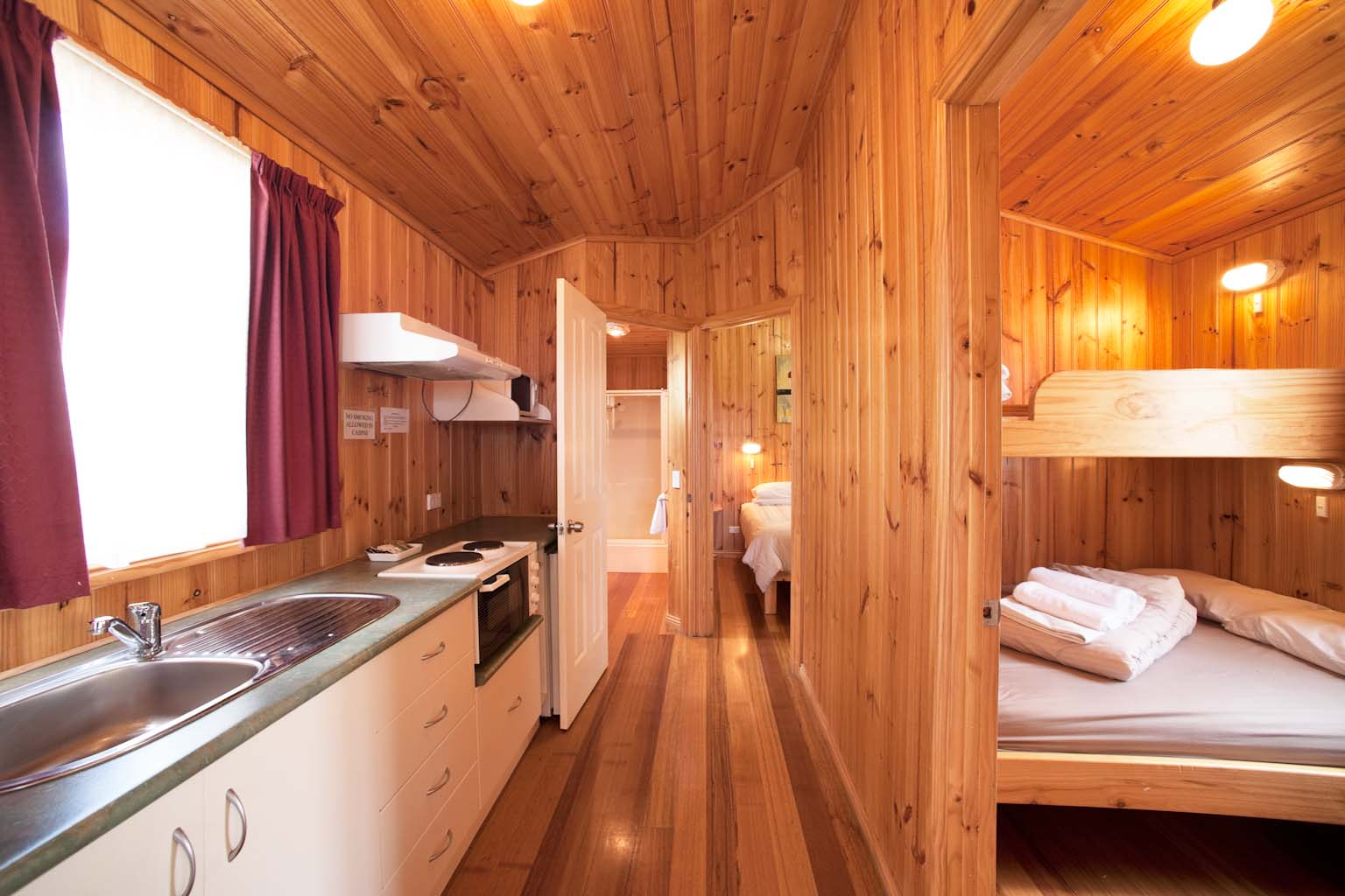 budget cabin accommodation